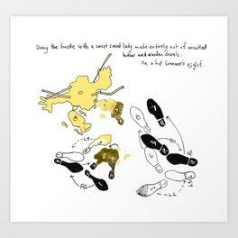 butterhussle Art Print