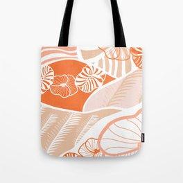 vintage hawaii, coral Tote Bag