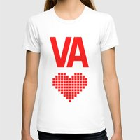 virginia T-shirts featuring Virginia Love by Hum Chee