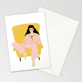 Pyjama Sunday Stationery Cards