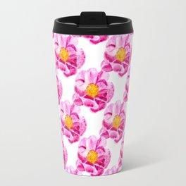 Seamless background with flowers Travel Mug