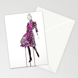 Drippy Dots Stationery Cards