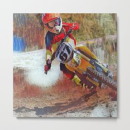 Dirt Man Metal Print