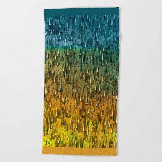 Raining Forest / Autumn 16-10-16 Beach Towel