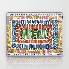 Geometric Drawing Meditation Laptop & iPad Skin