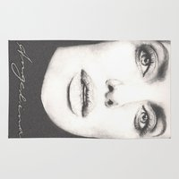 angelina jolie Area & Throw Rugs featuring the lovely angelina... by als3