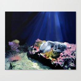 Waterwoman 2 Canvas Print
