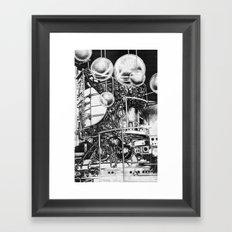L A B  Framed Art Print