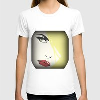woman T-shirts featuring Woman by Cs025