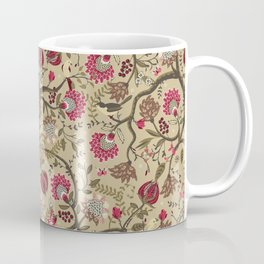 Chintz floral | latte Coffee Mug