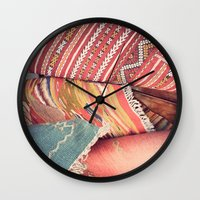 moroccan Wall Clocks featuring Moroccan by Paint Pattern Photo