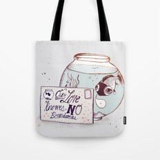 No Boundaries Tote Bag