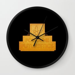 Fontaine Futuristics Wall Clock