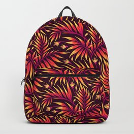 Waikiki Palm - Orange Backpack