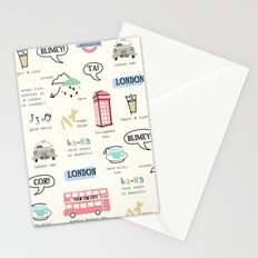 Tour Of London Stationery Cards