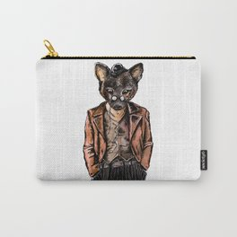 Little Wolf on Suit Carry-All Pouch