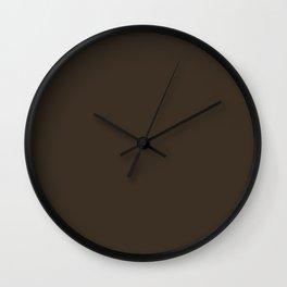 Cola - solid color Wall Clock