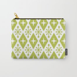 Mid Century Modern Atomic Triangle Pattern 131 Carry-All Pouch