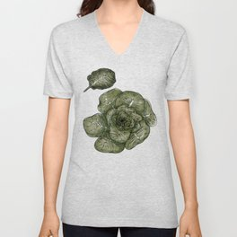 Collard Greens Unisex V-Neck