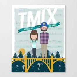TMix Poster Canvas Print