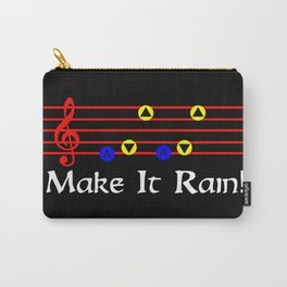 Make It Rain! - Song Of Storms (The Legend Of Zelda: Ocarina Of Time) Carry-All Pouch