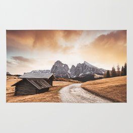 seiser alm in south tyrol Rug