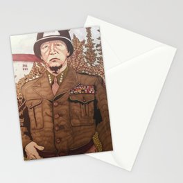 General Patton Stationery Cards