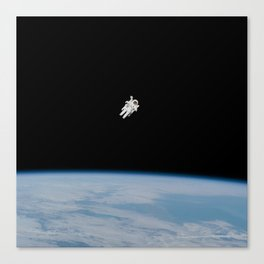 Space Alone by NASA Canvas Print