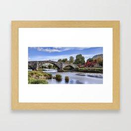 Pont Fawr Framed Art Print