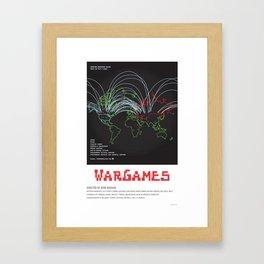 WarGames (1983) Framed Art Print