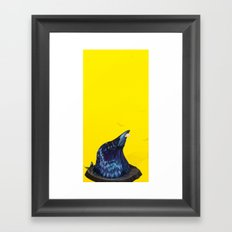 Intellectual Threat Framed Art Print