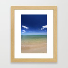 Gulf Paradise Framed Art Print