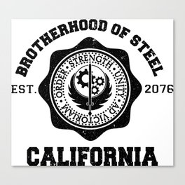 Brotherhood of Steel - Fallout Canvas Print