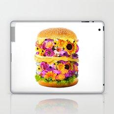 Burger of flowers Laptop & iPad Skin