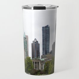 Vancouver from Robson Square Travel Mug