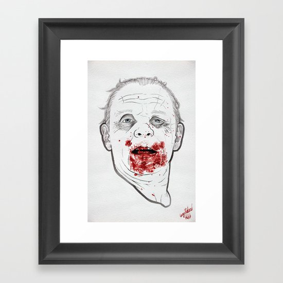 Ready when you are, Sergeant Pembry. // Silence of the Lambs Framed Art Print