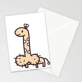 Phallic Giraffe Stationery Cards