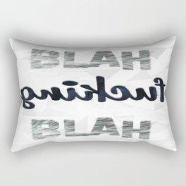 BLAH F-ING BLAH Rectangular Pillow