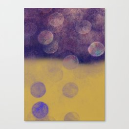 Falling Planets Canvas Print