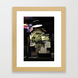 St. Patricks Money Framed Art Print