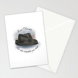 Hat for Leonard Cohen Stationery Cards