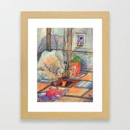 Tea Party no. 1 Framed Art Print