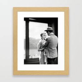 Collage À bout de souffle - Jean Luc Godard (1960) Framed Art Print