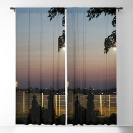 urban mystery no.3 Blackout Curtain