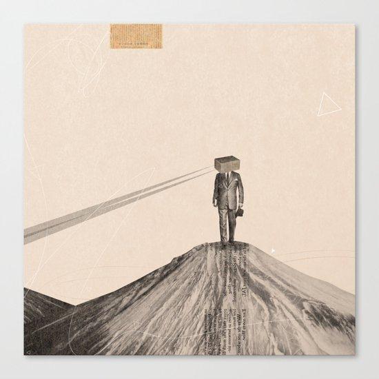 Walking Man Canvas Print