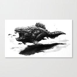 Dunkleosteus terrelli Canvas Print