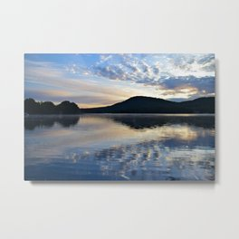 Rippling Reflections: September Sunrise on Lake George Metal Print