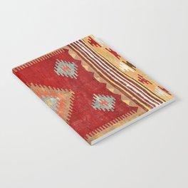 Çal  Antique Turkish Kilim Print Notebook