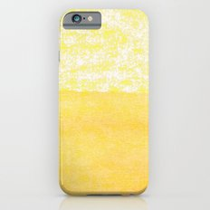 Abstract yellow iPhone 6 Slim Case