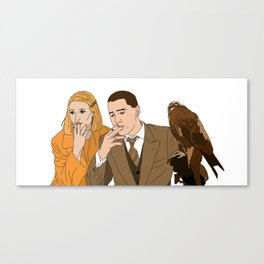 The Royal Tenenbaums - Margot and Richie Canvas Print